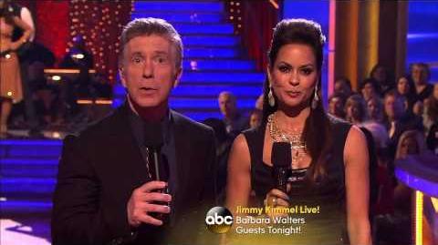 Amber Riley & Derek Hough - Viennese Waltz - Week 10 Elimination