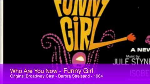 1964 - Who Are You Now? - Funny Girl - Broadway - Barbra Streisand