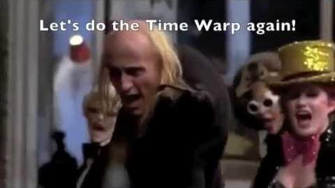 'Time Warp' Scene w Lyrics The Rocky Horror Picture Show