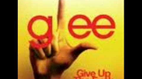 Glee Cast - Give Up The Funk (lyrics)
