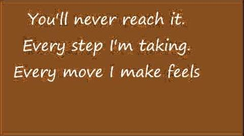 Glee The Climb with lyrics