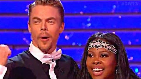【HD CC】Amber Riley & Derek Hough - Charleston - DWTS 17-11 Finals Dancing With The Stars
