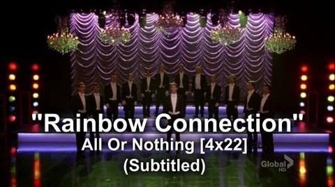"Glee - Full Performance of ""Rainbow Connection"" All or Nothing (Subtitled) HQ"
