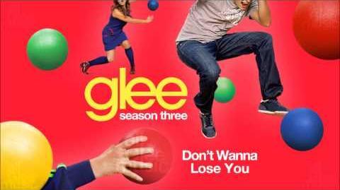 Don't Wanna Lose You Glee HD FULL STUDIO