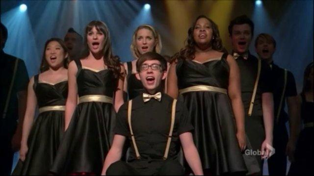 Fly I Believe I Can Fly Glee Cast (Full Performance)