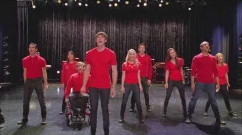 """Full Performance of """"Some Nights"""" """"Dynamic Duets"""" GLEE-1"""