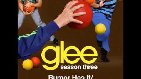 Glee - Rumor Has It Someone Like You (DOWNLOAD MP3 LYRICS)
