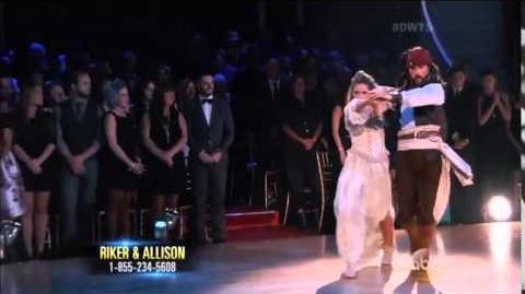 Riker Lynch&Allison Holker - Week 10 - Paso Doble