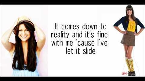 GLEE-New York state of mind with lyrics
