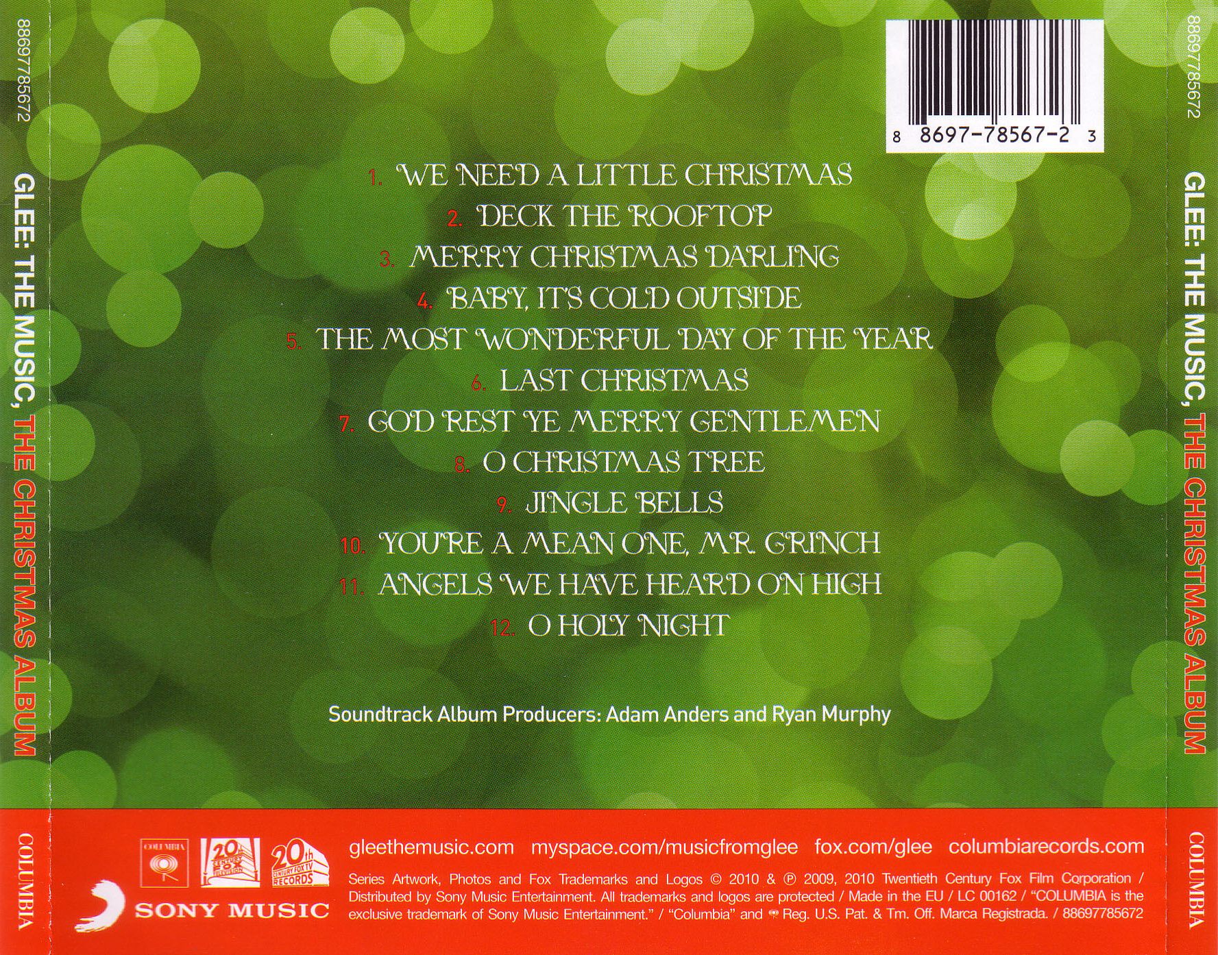 glee the the christmas album glee tv show wiki fandom