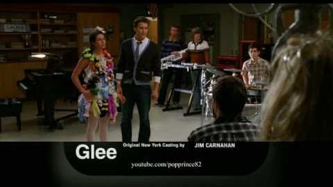 "Glee 1x20 ""Theatricality"" Promo!!"