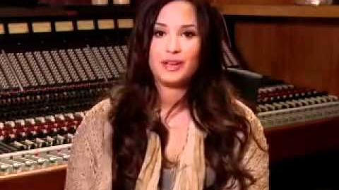 **Demi Lovato on Glee**