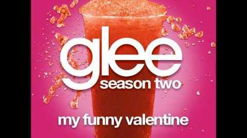 Glee My Funny Valentine