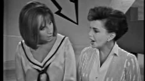 Judy Garland Barbra Streisand Duet - Get Happy Happy Days Are Here Again-0
