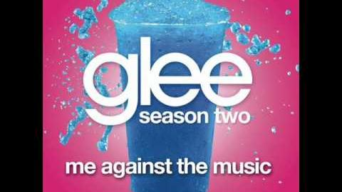 Me Against the Music - Glee Cast Version Full HQ Studio