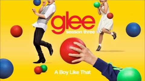 A boy like that - Glee