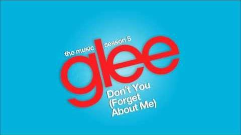 Don't You (Forget About Me) Glee HD FULL STUDIO