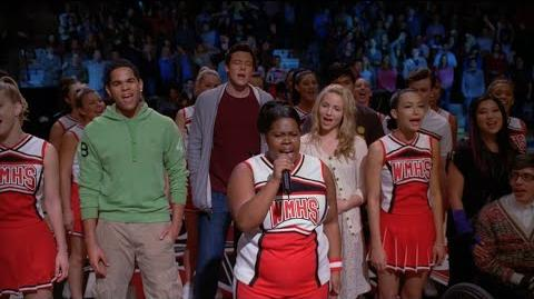 GLEE - Beautiful (Full Performance) Speech HD