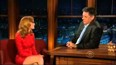 The Late Late Show With Craig Ferguson Jayma Mays Full HD Interview