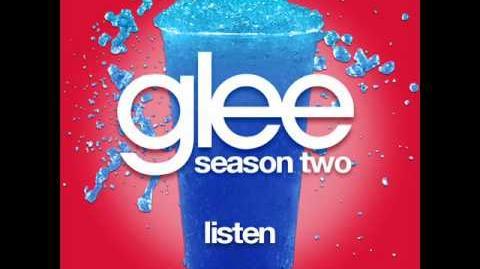 Glee - Listen (LYRICS)