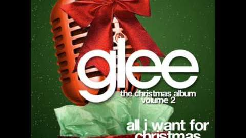 Who Wrote All I Want For Christmas Is You.All I Want For Christmas Is You Glee Tv Show Wiki Fandom