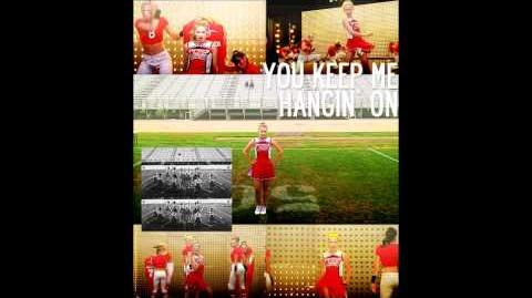 Glee - You Keep My Hangin One (Acapella)