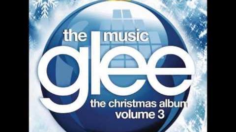 Glee white christmas