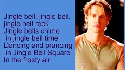 Glee Jingle Bell Rock with lyrics