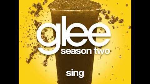 Glee - Sing (DOWNLOAD MP3 LYRICS)