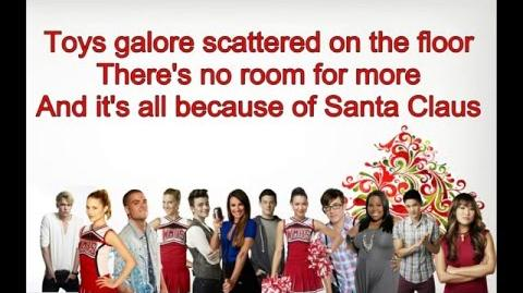 Glee - The Most Wonderful Day of the Year (Lyrics)