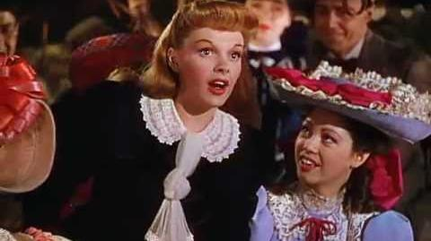 Judy Garland - The Trolley Song (Meet Me In St