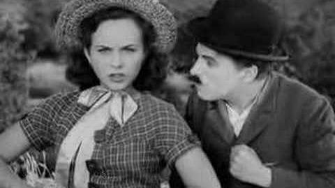 Smile, Charlie Chaplin , Modern Times, 1936