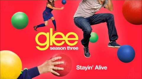 Stayin' Alive Glee HD FULL STUDIO