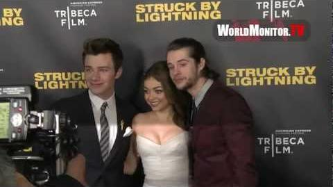 'Struck By Lightning' film premiere Arrivals with Chris Colfer, Darren Criss and more
