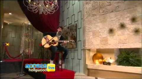 Access Hollywood Live Darren Criss Covers 'Don't You Want Me'