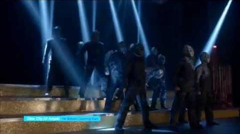 Glee - Mr roboto Counting Stars - Full Perfomance