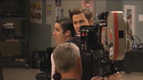 Glee Behind-The-Scenes of 3X15 Big Brother