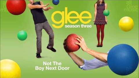 Not The Boy Next Door Glee HD FULL STUDIO