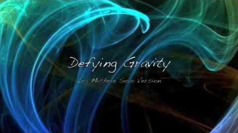 Defying Gravity - Lea Michele (Rachel) Solo Version