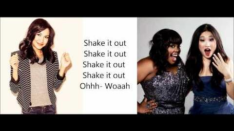 Glee - Shake it out Lyrics