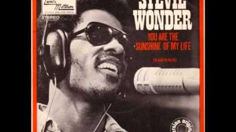 Stevie Wonder You Are The Sunshine Of My Life