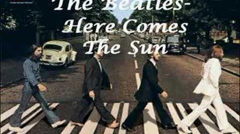 Beatles- Here Comes The Sun (with lyrics)