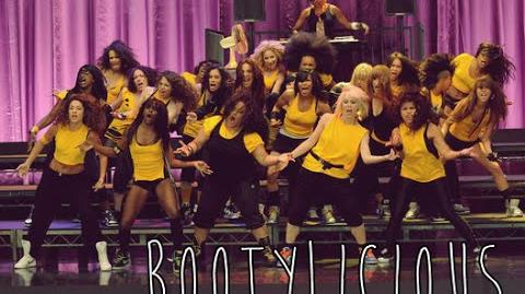 """GLEE - Full Performance of """"Bootylicious"""""""