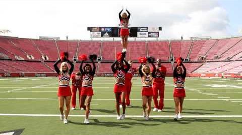 Congratulations Santana - University of Louisville Cheerleaders