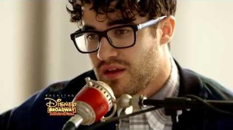 "Darren Criss ""Proud of Your Boy"" from ALADDIN"