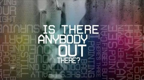 """Is Anybody Out There?"" Lyric Video - K'NAAN (feat. Nelly Furtado)"