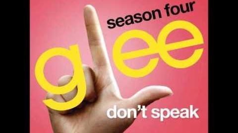 Glee - Don't Speak (DOWNLOAD MP3 LYRICS)