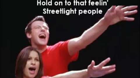 Glee - Don't Stop Believing (Lyrics)