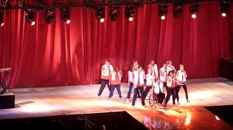 Glee Live Tour at The O2, London, 25th June 2011 (HD) - Don't Stop Believing Dog Days are Over