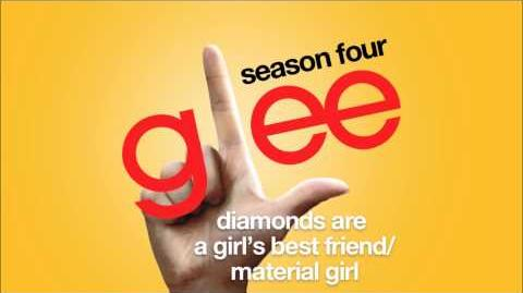 Diamonds Are Girl's Best Friend Material Girl Glee HD FULL STUDIO